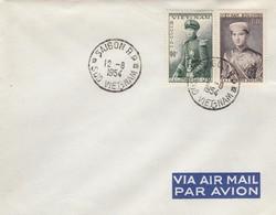 VIET-NAM. LETTRE. SAIGON 12 6 54 - Vietnam