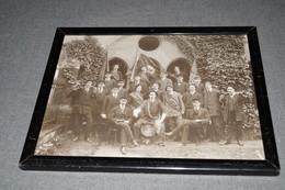 Ancienne Photo,1914,Neuchatel,Suisse,milieu étudiants Suisse,Gymnase De La Chaud-De-Fonds ? 29 Cm. Sur 23,5 Cm. - Old (before 1900)