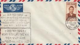 VIET-NAM. LETTRE. 23 10 1951. SAIGON - Vietnam
