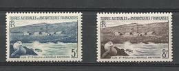 T A A F  1955  CAT YT N° 4 Et 5   N** MNH - Terres Australes Et Antarctiques Françaises (TAAF)