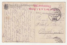 Austria WWI Otto Gebler: Hirtenleben Postcard Posted 1917 K.u.k. 1. Armee Etappenpost 265 To Osijek  B200401 - Croatia