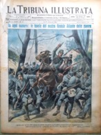 La Tribuna Illustrata 10 Ottobre 1915 WW1 Cadore Giappone Predil Pontebba Tarvia - Guerre 1914-18