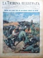 La Tribuna Illustrata 24 Ottobre 1915 WW1 Val Di Landro Colonie Novelli Scienza - Guerre 1914-18