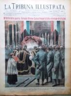 La Tribuna Illustrata 14 Novembre 1915 WW1 Ferrovia Allah Casa Del Soldato Roma - Guerre 1914-18