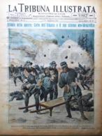 La Tribuna Illustrata 17 Dicembre 1915 WW1 Albania Concistoro Tunnel Merinovic - Guerre 1914-18