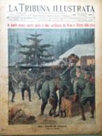La Tribuna Illustrata 26 Dicembre 1915 WW1 Salonicco Edison Bezzecca Usa Sarrail - Guerre 1914-18