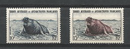 T A A F  1956   CAT YT N° 6 Et 7   N** MNH - Terres Australes Et Antarctiques Françaises (TAAF)