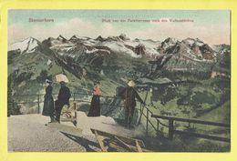 * Stanserhorn (Nidwalden - Suisse) * (E. Goetz, Photogr Luzern 2477) Blick Von Der Hotelterrasse Nach Wallenstocken - NW Nidwald