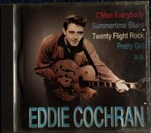Eddie Cochran  - 18 Titres . - Rock