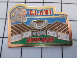 716a Pin's Pins / Beau Et Rare / THEME : POMPIERS / C.I. N°81 MITRY-MORY - Feuerwehr