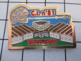 716a Pin's Pins / Beau Et Rare / THEME : POMPIERS / C.I. N°81 MITRY-MORY - Firemen
