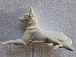 Porzellan Schäferhund Th. Kärner Nympenburg Tierfigur Sehr Dekorativ - Nymphenburg (DEU)