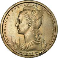 Monnaie, Cameroun, 2 Francs, 1948, Paris, SPL+, Copper-nickel, KM:E6 - Kamerun