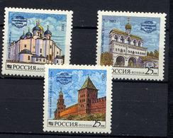 RUSSIE RUSSIA 1993, Yvert 6013/5, Architecture Kremlin, 3 Valeurs, Neufs / Mint. R1012 - Ongebruikt