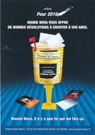 CPM GF - 20144 -Série 8 Cartes  Publicitaires 2016 Pour Mamie Nova   -Envoi Gratuit - Advertising