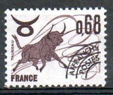 FRANCE. Préoblitéré N°147 De 1977. Signe Du Zodiaque/Taureau. - Astrologie