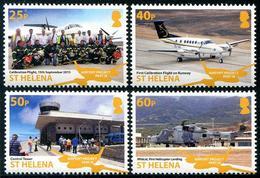 St Héléna 2018 - Projet Aéroport III - 4 Val Neufs // Mnh - Saint Helena Island