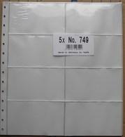 SAFE/I.D. - FEUILLES-CLASSEUR Pour CARTES 115x70 Mm (REF. 749) - Paquet De 5 - Albums & Binders