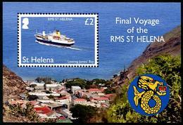 St Héléna 2018 - Dernier Voyage Du Paquebot St Héléna - BF Neufs // Mnh - Saint Helena Island