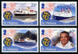 St Héléna 2018 - Dernier Voyage Du Paquebot St Héléna - 4 Val Neufs // Mnh - Saint Helena Island