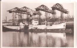 280 DIEPPE Déchargement 1er Bateau De Bananes ERNA 28 /01/1935 - Dieppe