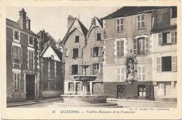 AUXERRE : VIEILLES MAISONS - Auxerre