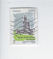 Série Touristique Eglise Notre-dame De Royan 4613 Oblitéré 2011 - Francia