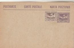 Pologne Haute Silésie Entier Postal Carte Postale Avec Complément Affranchissement  - Neuf Neuve - Silesia (Lower And Upper)