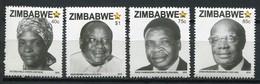 Simbabwe Zimbabwe Mi# 1061-4  Postfrisch/MNH - National Heroes - Zimbabwe (1980-...)