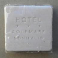 - Savon - Ancienne Savonnette D'hôtel - Hôtel Solemare. Bonifacio - - Kosmetika