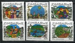 Simbabwe Zimbabwe Mi# 1065-70  Postfrisch/MNH - Nature Preservation - Zimbabwe (1980-...)