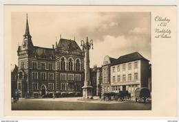 AK  Oldenburg Marktplatz Mit Rathaus  Kleinformat  Ansichtskarte - Oldenburg