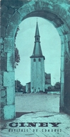 Brochure Dépliant Faltblatt Folder - Toerisme Tourisme - Ciney Capitale Du Condroz - Dépliants Touristiques