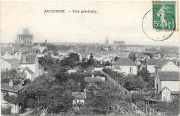 AUXERRE : VUE GENERALE - Auxerre