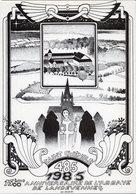 AR ROUE  15éme ANNIVERSAIRE DE L ABBAYE DE LANDEVENNEC 1985  TIRAGE LIMITE 150 EX  -  CARTOLISTE N°31 - Autres Illustrateurs