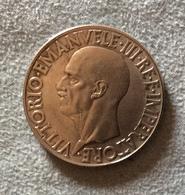 REGNO D'ITALIA  - L. 20 DEL 1936 QUADRIGLIA - RICONIO - Antiche