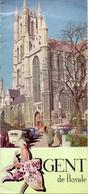 Brochure Dépliant Faltblatt Folder - Toerisme Tourisme - Gent De Florale +- 1958 - Dépliants Touristiques