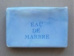 - Savon - Ancienne Savonnette D'hôtel - Eau De Marbre - - Produits De Beauté