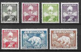 Greenland 1938, Complete Set MNH - Ungebraucht