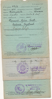 1941 GAETA LOTTO DI 3 ANNULLI MARINA MILITARE - Military Mail (PM)