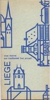 Brochure Dépliant Faltblatt Folder - Toerisme Tourisme - Liège - Dépliants Touristiques