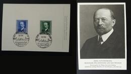 Carte Maximum Card Emil Von Bering Prix Nobel Medecine Allemagne Reich 1940 - Lettres & Documents