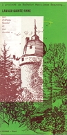 Brochure Dépliant Faltblatt Folder - Toerisme Tourisme - Lavaux Sainte Anne - Dépliants Touristiques