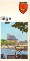 Brochure Dépliant Faltblatt Folder - Toerisme Tourisme - Liège Luik , Tekst Nederlands - Dépliants Touristiques