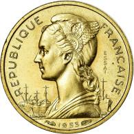 Monnaie, Madagascar, 10 Francs, 1953, Paris, ESSAI, SPL+, Aluminum-Bronze - Madagascar
