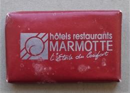 - Savon - Ancienne Savonnette D'hôtel - Hôtels Restaurants Marmotte - - Produits De Beauté