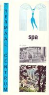 Brochure Dépliant Faltblatt Folder - Toerisme Tourisme - Spa , Thermal Centrum - Dépliants Touristiques