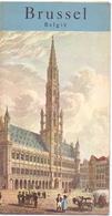 Brochure Dépliant Faltblatt Folder - Toerisme Tourisme - Brussel +- 1960 - Dépliants Touristiques