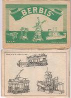 Jeu Bois BERBIS  Germany  1930 - Planches & Plans Techniques
