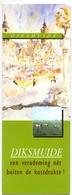 Brochure Dépliant Faltblatt Folder - Toerisme Tourisme - Diksmuide - Dépliants Touristiques